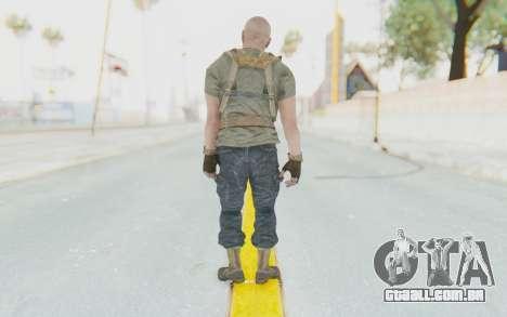 COD BO Hudson Ubase para GTA San Andreas terceira tela