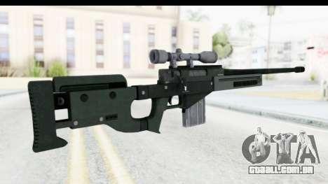 GTA 5 Shrewsbury Sniper Rifle para GTA San Andreas segunda tela