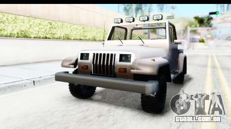 Mesa MAXimum 4x4 para GTA San Andreas vista direita