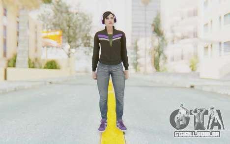GTA Online Skin Female para GTA San Andreas segunda tela