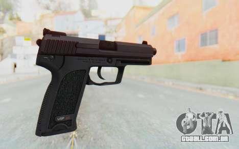 H&K 45 para GTA San Andreas segunda tela