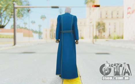 Ultimate Marvel Vs Capcom 3 Vergil para GTA San Andreas terceira tela