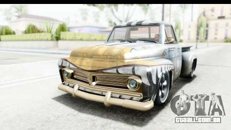 GTA 5 Vapid Slamvan without Hydro para o motor de GTA San Andreas