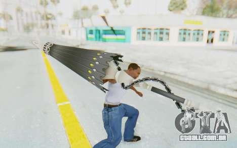 Misteltein Weapon para GTA San Andreas terceira tela
