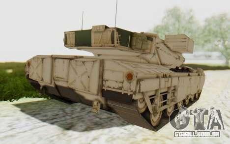 MGSV Phantom Pain M84A MAGLOADER para GTA San Andreas esquerda vista