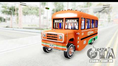 Dodge D600 v2 Bus para GTA San Andreas