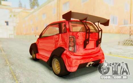 GTA 5 Benefactor Panto Custom para GTA San Andreas vista direita