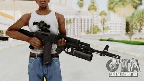AK-74M v3 para GTA San Andreas terceira tela