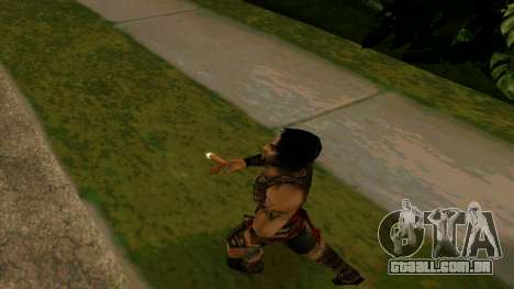 Prince Of Persia Warrior Within para GTA San Andreas quinto tela
