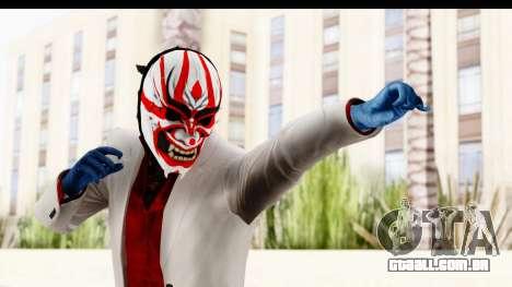 Payday 2 - Jiro with Mask para GTA San Andreas