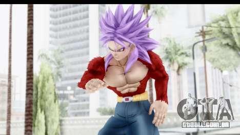 Dragon Ball Xenoverse Future Trunks SSJ4 para GTA San Andreas