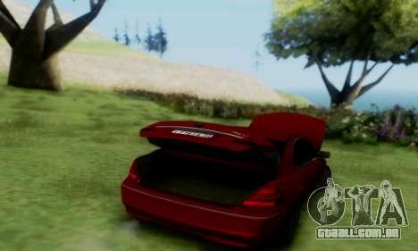 BMW 760i para GTA San Andreas vista direita