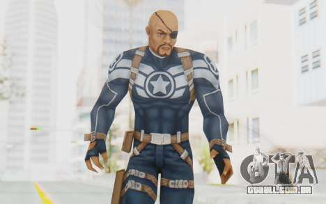 Marvel Future Fight - Nick Fury para GTA San Andreas