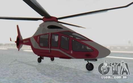 GTA 5 Buckingham Volatus v2 IVF para GTA San Andreas vista direita