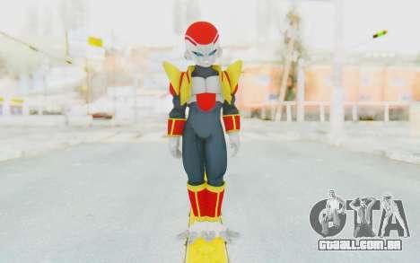 Dragon Ball Xenoverse Super Baby Frieza para GTA San Andreas segunda tela