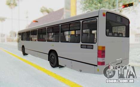 Pylife Bus para GTA San Andreas esquerda vista