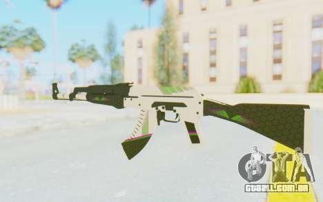 CS:GO - AK-47 Sport para GTA San Andreas segunda tela