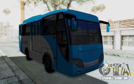 Hino Evo-C Transjakarta Feeder Bus para GTA San Andreas vista direita