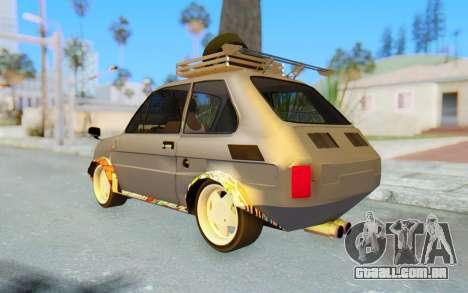 Fiat 126 para GTA San Andreas esquerda vista