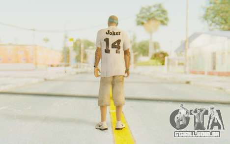 The Joker Skin para GTA San Andreas terceira tela