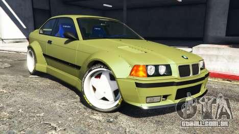 BMW M3 (E36) Street Custom v1.1 para GTA 5