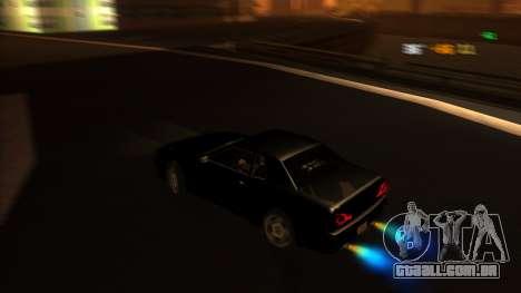 Elegy Bushido para GTA San Andreas vista direita