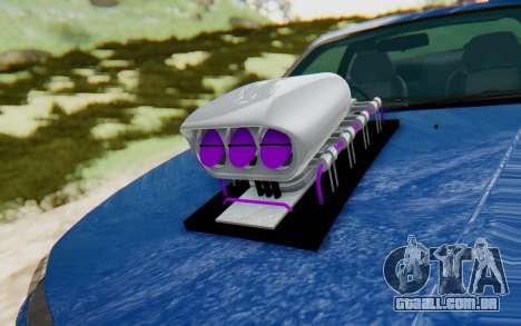 Nissan Silvia S15 Monster Truck para GTA San Andreas vista traseira