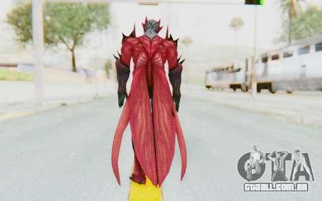 Devil May Cry 4 - Dante Demon para GTA San Andreas terceira tela