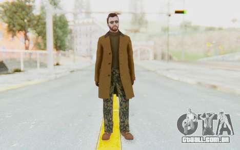 GTA 5 DLC Finance and Felony Male Skin para GTA San Andreas segunda tela