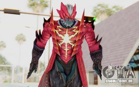 Devil May Cry 4 - Dante Demon para GTA San Andreas
