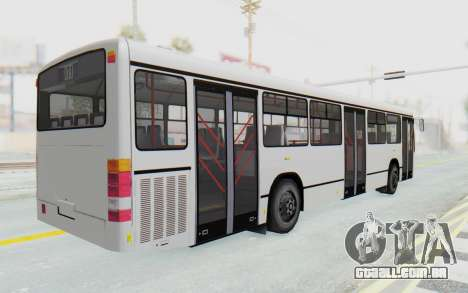 Pylife Bus para GTA San Andreas traseira esquerda vista