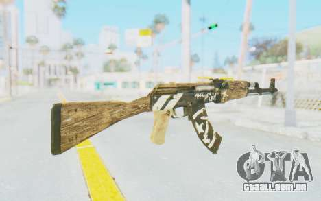 CS:GO - AK-47 Wasteland Rebel para GTA San Andreas segunda tela