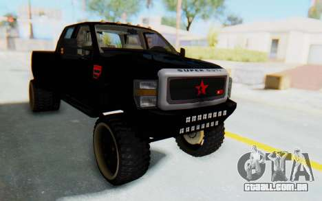 Ford Super Duty Off-Road para GTA San Andreas vista direita