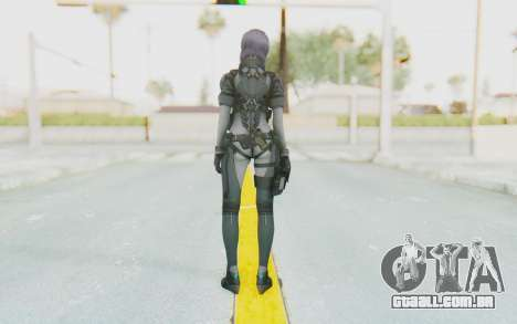 Ghost In The Shell First Assautl Motoko v1 para GTA San Andreas terceira tela