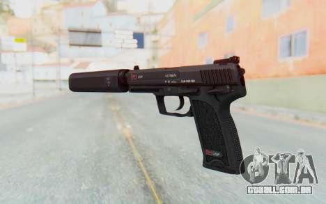 H&K 45 Silenced para GTA San Andreas terceira tela