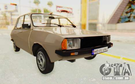 Dacia 1310 TLX para GTA San Andreas vista direita