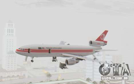 DC-10-30 Malaysia Airlines (Retro Livery) para GTA San Andreas