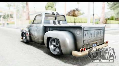 GTA 5 Vapid Slamvan without Hydro para GTA San Andreas
