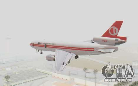 DC-10-30 Malaysia Airlines (Retro Livery) para GTA San Andreas esquerda vista