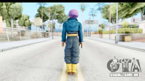 Dragon Ball Xenoverse Future Trunks SJ para GTA San Andreas terceira tela