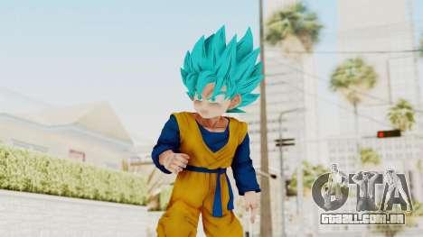 Dragon Ball Xenoverse Goten SSGSS para GTA San Andreas