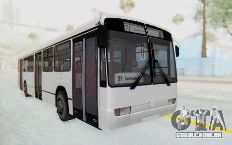Pylife Bus para GTA San Andreas vista direita