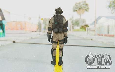 Federation Elite Assault Desert para GTA San Andreas terceira tela