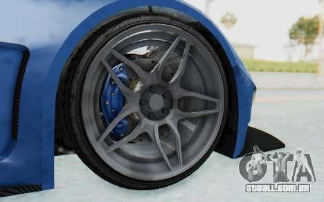 GTA 5 Vapid FMJ para GTA San Andreas vista traseira