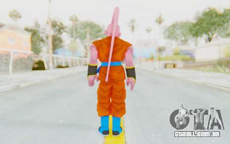 Dragon Ball Xenoverse Super Buu Goku FnF Absorbe para GTA San Andreas terceira tela