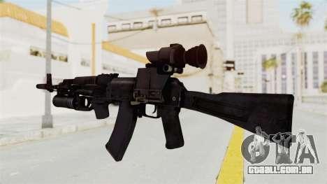 AK-74M v3 para GTA San Andreas segunda tela
