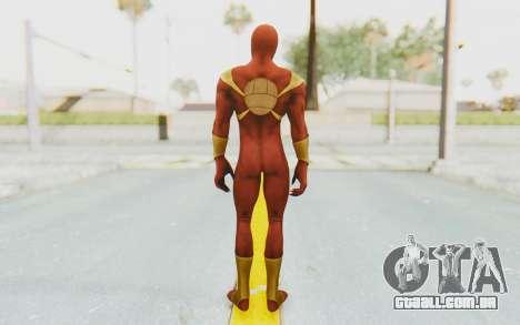 Marvel Heroes - Iron Spider para GTA San Andreas terceira tela
