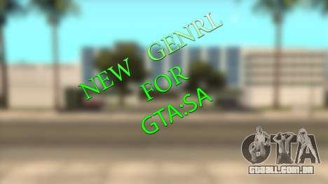 Novas armas sons para GTA San Andreas