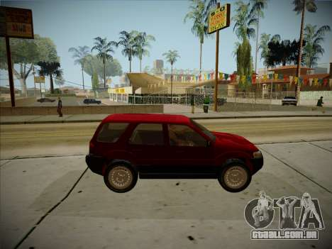 Ford Escape 2005 para GTA San Andreas vista traseira