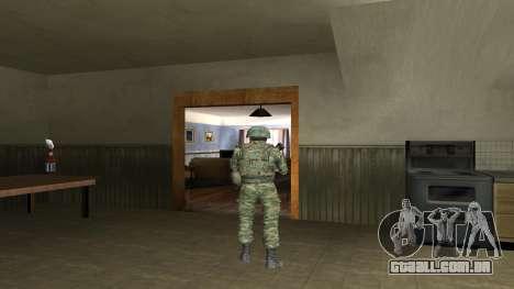 Corpo De Fuzileiros Navais Lutador para GTA San Andreas oitavo tela